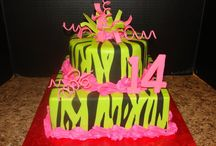 my 14th birthday cake