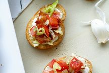Sandwiches/crostinis