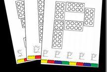 Montessori písmena a číslice