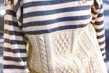 Mariniere en tricot
