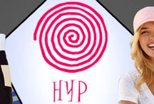 hyp / HYP was founded in 1991 by four college basketball playing buddies that were tired of the same old team and licensed baseball caps. Over a few beers at a bar in Manhattan, HYP was born. Starting with the signature HYP spiral, HYP's founders came up with a group of hats based on popular sayings and icons, scraped together the money for some samples, and set up a table at a New York City trade show. http://www.raisingtrend.com/hyp.html