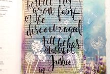 Jesaja Bible Journaling