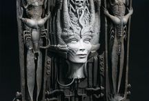 H. R. Giger / Biomech Art: Surrealism, Cyborgs and Alien Universes