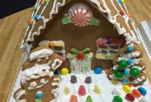 Holiday Fun / DIY ginger bread homes  / by Adiah Prince