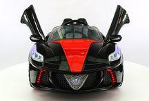 Kids Ride-on Ferrari Battery Powered