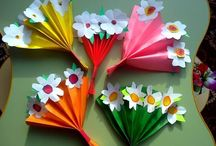 paper crafts for kids spring