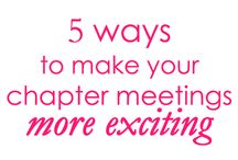 Meeting Ideas / by Stephanie Goldenberg
