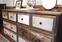 Furniture makeover / Redone furniture