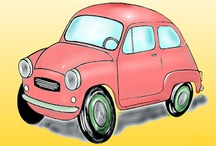 My work - Caricature - Cars / Cars and Trucks caricatures