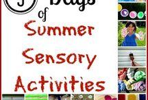 More sensory ideas for work