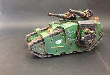 Forge World Legion Sicaran Battle Tank / https://www.flickr.com/photos/142435544@N06/albums/72157666085805123