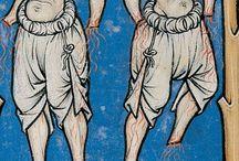 roupa medieval
