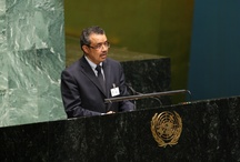 Dr. Tedros at the United Nations General Assembly and High-Level Taskforce for ICPD / Dr. Tedros at the United Nations General Assembly and High-Level Taskforce for ICPD