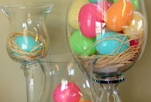 Easter decor / by Lisa Lacher