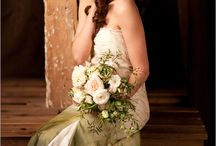 Ombre wedding dresses