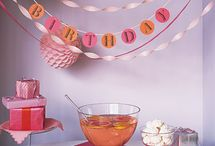 Party Ideas and Decor / Party and Event Ideas / by Courtney {Scraps and Scribbles}