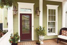 Entrances / Door colors / by Kajun Kween