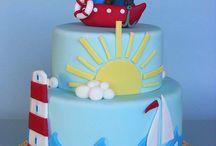 Navy cakes