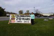 Frank's 70th Anniversary / We are celebrating 70 years of Frank's Great Outdoors in 2015. Check out some of the winners from our 70th anniversary giveaways.