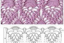 Háčkované vzory - crochet