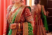 Eye catching Bridal lehengas