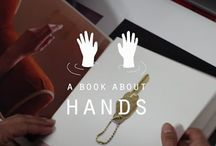 A BOOK ABOUT HANDS / A BOOK ABOUT HANDS is a book and an international and independent project involving 47 artists from 13 different countries and it hosts images of public domain coming from many museums and collection around the world.