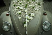 car wedding deco