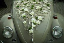 car wedding deco