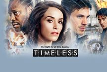 Timeless / Yet another time travel show that I freaking love.