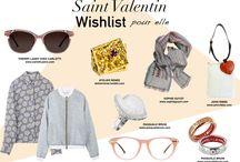 SAINT-VALENTIN 2016 / Idées cadeaux pour la Saint-Valentin, petite sélection chez nos créateurs. C'est le moment de faire plaisir !