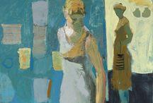 Linda Christensen / Figure Paintings