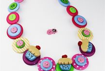 Addicted to Buttons Wish List / Button Necklaces