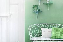 Ombre/ dip dye in your interior