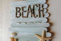 Beach Themed Crafts / by April Swiney