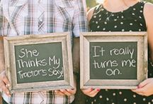 Engagement photo ideas / by Brandi Anderson