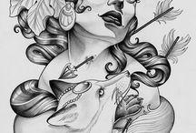 Women Illustration / Inspiration