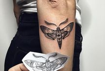 //\\ moth tattoo