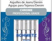 SCHMETZ Chrome Professional Grade Needles / If your needles take a beating, try these new SCHMETZ Chrome needles.  Chrome resists heat. Chrome resists wear.  Eight needle types in a variety of needle sizes.  23 sku's.  Available at independently owned quilt/fabric shops & machine dealers.