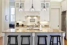 lighting fixtures and kitchens