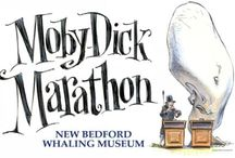 Our Melville Obsession / The Moby-Dick Marathon at the New Bedford Whaling Museum is the world's best known readathon of Herman Melville's literary masterpiece. It is a nonstop reading commemorating the anniversary of the departure of the ship Acushnet from the whaling port of New Bedford with 21-year-old Herman Melville aboard. / by New Bedford Whaling Museum