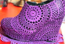 Crochet - Bags, Hats, Jewelry and Shoes