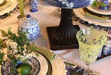 Dining Table Settings / by Donna Perez