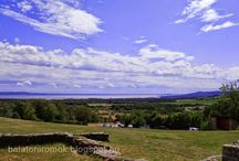 Balatoni panoráma / Panorámafotók a Balatonról illetve a Balcsi közeléből.