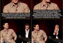 The Family Bussiness / Supernatural, Jensen, Jared, Misha, Mark / by Debolsillo Barcelona