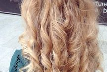 Hairstyles and makeup for prom