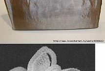 Crocheted bags