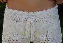 short de croche