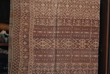 Traditional woven fabric from Indonesia