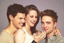 Taylor Lautner & Kristen Stewart & Robert Pattinson