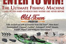 ULtimate Giveaway by Old Town, #MinnKotamotors & More Brian Brosdahl/BB Promotions